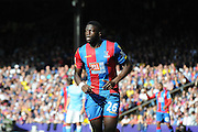 Man of the momeny Bakary Sako during the Barclays Premier League match between Crystal Palace and Manchester City at Selhurst Park, London, England on 12 September 2015. Photo by Michael Hulf.