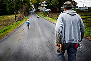 Boys who are not old enough to attend school spend their days on the farm with their father. Old Order Mennonites are a branch of the Mennonite church. It is a term that is often used to refer to those groups of Mennonites who practice a lifestyle without some elements of modern technology.