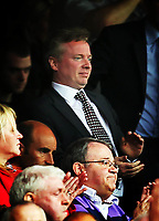 Football - Scottish Premier League - Rangers vs Hearts<br /> <br /> Rangers new owner Craig Whyte during the Rangers vs Hearts Clydesdale Bank Premier league match at Ibrox Stadium