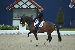 Schmidt Hubertus, (GER), Hedelunds Mefisto<br /> Qualification Grand Prix Kur<br /> Horses & Dreams meets Denmark - Hagen 2016<br /> © Hippo Foto - Stefan Lafrentz