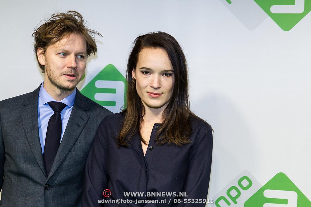 NLD/Hilversum/20180205 - Premiere Telefilms 2018, Ellen Parren en ......
