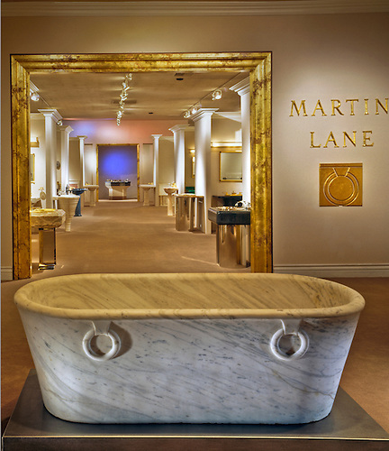 Martin Lane, Designer, Luxury, Bathroom, Showroom, Commercial, Interior,  Lifestyle, Decor, Contemporary, Modern, | David Zanzinger Fine Art Stock ...