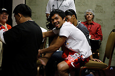 November 14, 2009: Manny Pacquiao vs Miguel Cotto Dressing Rooms