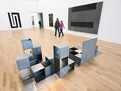 Modern art installations at Bonn Kunstmuseum or Art Museum in Germany