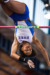 Megan CLark, womens pole vault, Duke, Armory Track Invitational Indoor,