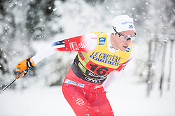 Gjoeran Tefre (NOR) during the man team sprint race at FIS Cross Country World Cup Planica 2019, on December 22, 2019 at Planica, Slovenia. Photo By Peter Podobnik / Sportida
