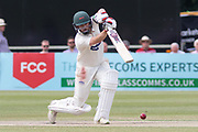 Paul Horton drives for 4 during the Specsavers County Champ Div 2 match between Gloucestershire County Cricket Club and Leicestershire County Cricket Club at the Cheltenham College Ground, Cheltenham, United Kingdom on 17 July 2019.