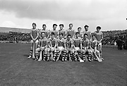 03/09/1967<br /> 09/03/1967<br /> 3 September 1967<br /> All-Ireland Minor Hurling Final: Cork v Wexford at Croke Park, Dublin.<br /> The Wexford team.