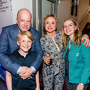 NLD/Amsterdam/20180506 - Première roadmovie musical Selma ann Louis, Diederik Vleuten, partner Bianca Krijgsman en kinderen Lizzy en Bobby