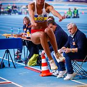 NLD/Apeldoorn/20180217 - NK Indoor Athletiek 2018, Tara Yoro