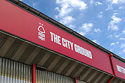 General view outside the stadium before the EFL Sky Bet Championship match between Nottingham Forest and Birmingham City at the City Ground, Nottingham, England on 17 August 2019.