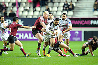 Krisnan Inu - 11.12.2014 - Stade Francais / Newcastle Falcons - European Rugby Challenge Cup<br />Photo : Andre Ferreira / Icon Sport