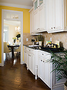 Northern Virginia residential interior kitchen and dining room