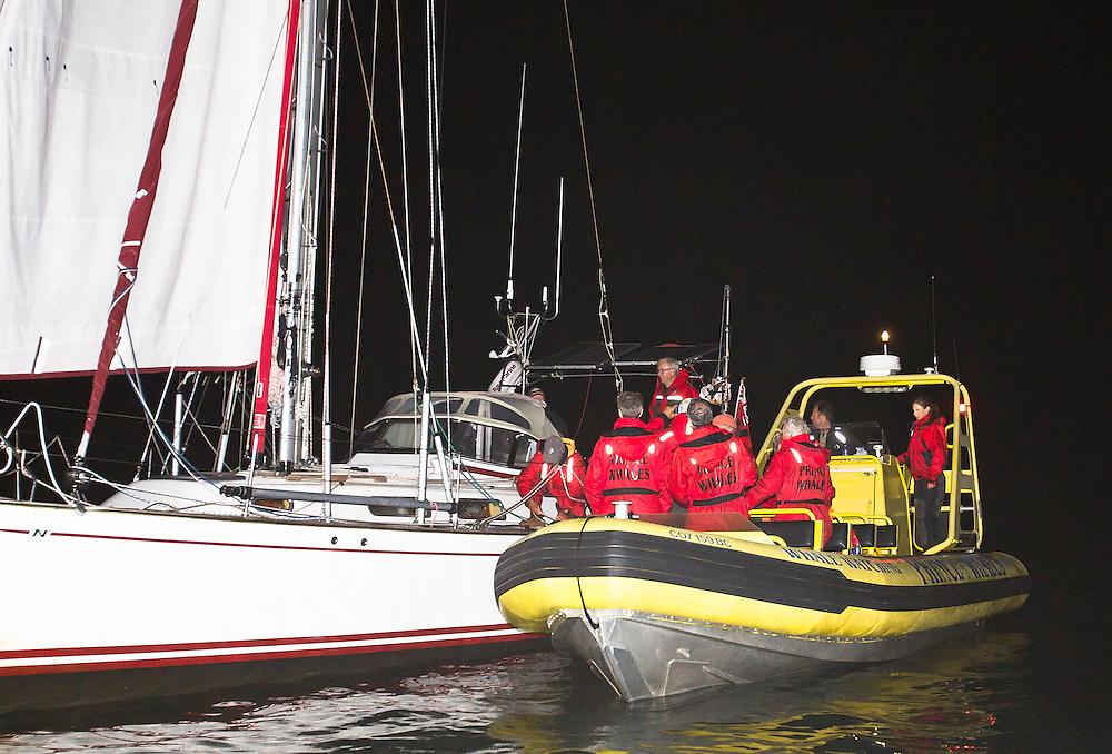Jeanne Socrates aboard Nereida July 7th 2013