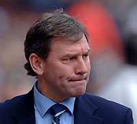 Photo: Glyn Thomas.<br />Aston Villa v West Bromwich Albion. The Barclays Premiership. 09/04/2006.<br /> West Brom manager Bryan Robson.