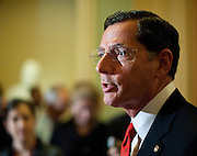 Sep 29, 2010 - Washington, District of Columbia, U.S. -.Senator JOHN BARRASSO (R-WY) speaks at a press conference on Wednesday. The Senate hopes to adjourn this evening until November 15th for the elections..(Credit Image: © Pete Marovich/ZUMA Press)