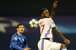 Maxwel Cornet of Lyon during football match between GNK Dinamo Zagreb and Olympique Lyonnais in Group H of Group Stage of UEFA Champions League 2016/17, on November 22, 2016 in Stadium Maksimir, Zagreb, Croatia. Photo by Morgan Kristan / Sportida