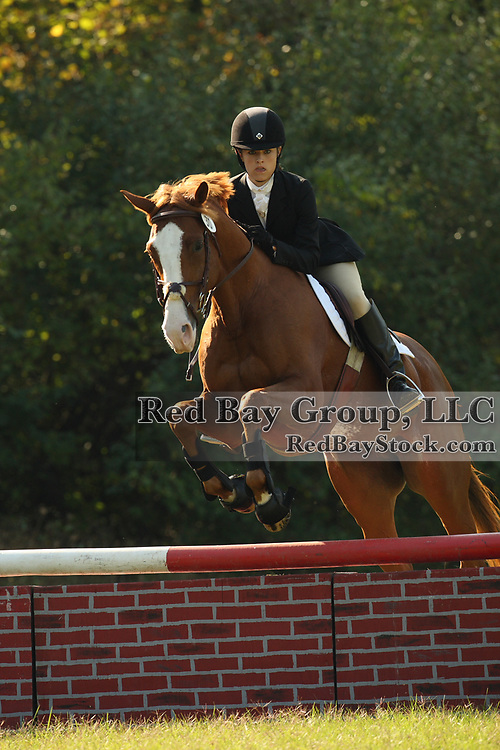Leigh Rettenmaier and Leonardo Da Vinci at the Queeny Park Horse Trials in St. Louis, MO.