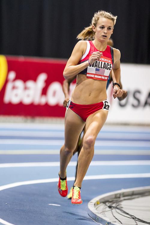 New Balance Indoor Grand Prix Track & FIeld:   Women's 2000 meters, Lauren Wallace, Oiselle