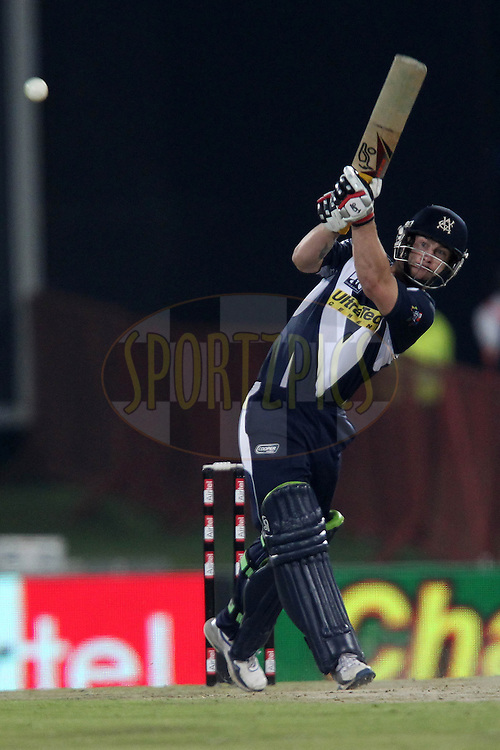 Matthew Wade of the Victorian Bushrangers during match 16 of the Airtel CLT20 held between the Victorian Bushrangers and the Wayamba Elevens at Supersport Park in Centurion on the 20 September 2010..Photo by: Ron Gaunt/SPORTZPICS/CLT20