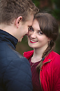 Manchester romantic engagement photo session