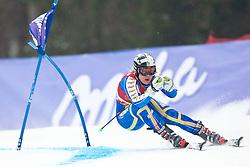 11.03.2010, Kandahar Strecke Damen, Garmisch Partenkirchen, GER, FIS Worldcup Alpin Ski, Garmisch, Lady Giant Slalom, im Bild Paerson Anja, ( SWE, #12 ), Ski Head, EXPA Pictures © 2010, PhotoCredit: EXPA/ J. Groder /SPORTIDA PHOTO AGENCY