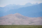 Great Sand Dunes National Park, Sangre de Cristo Mountains