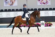 Carlijn Vaessen - Fossbury<br /> WK Selectie Jonge Dressuurpaarden 2017<br /> © DigiShots