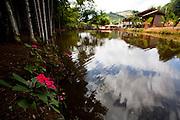 Ibatiba_ES, Brasil...Lago no restaurante Recanto da Vo Rosinha em Ibatiba...A lake in Recanto da Vo Rosinha restaurant in Ibatiba...Foto: LEO DRUMOND / NITRO