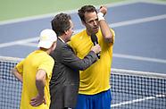 Davis Cup - Sweden v Portugal - 07 April 2018