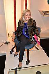 NADJA SWAROVSKI at the PAD London 2015 VIP evening held in the PAD Pavilion, Berkeley Square, London on 12th October 2015.