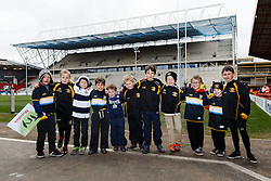 Bristol Rugby 7s members - Mandatory byline: Rogan Thomson/JMP - 06/03/2016 - RUGBY UNION - Ashton Gate Stadium - Bristol, England - Bristol Rugby v Cornish Pirates - Greene King IPA Championship.