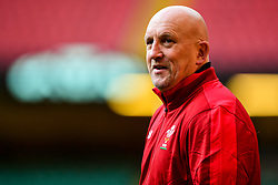 Shaun Edwards during the training session - Photo mandatory by-line: Ryan Hiscott/JMP - 29/10/2018 - RUGBY - Principality Stadium - Cardiff, Wales - Autumn Series - Wales Rugby Open Training Session