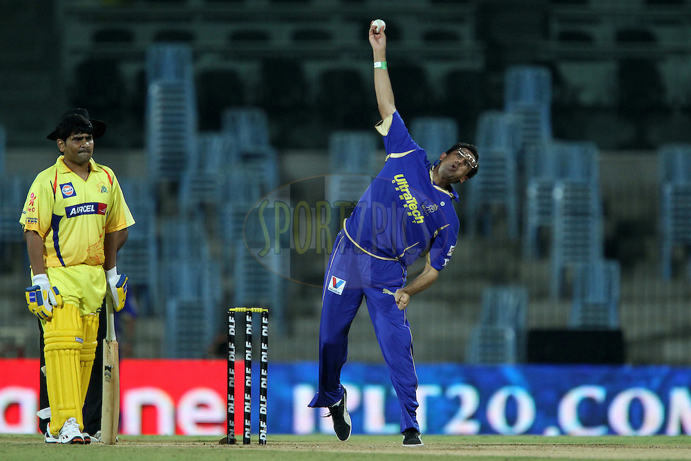 Action from the owners match held after match 26 of the the Indian Premier League ( IPL) 2012  between The Chennai Superkings and the Rajasthan Royals held at the M. A. Chidambaram Stadium, Chennai on the 21st April 2012..Photo by Ron Gaunt/IPL/SPORTZPICS