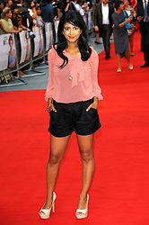 Konnie Huq arriving for the world premiere of Diana, in London, Thursday, 5th September 2013. Picture by Chris Joseph / i-Images