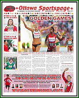 Front page of the August 2015 edition of the Ottawa Sportspage