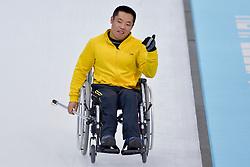 Wei Liu, Wheelchair Curling Semi Finals at the 2014 Sochi Winter Paralympic Games, Russia