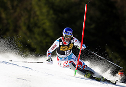 GRANGE Jean Baptiste of France competes during Men's Slalom - Pokal Vitranc 2014 of FIS Alpine Ski World Cup 2013/2014, on March 9, 2014 in Vitranc, Kranjska Gora, Slovenia. Photo by Matic Klansek Velej / Sportida
