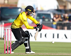 Gloucestershire's Jack Taylor<br /> <br /> Photographer Simon King/Replay Images<br /> <br /> Vitality Blast T20 - Round 1 - Somerset v Gloucestershire - Friday 6th July 2018 - Cooper Associates County Ground - Taunton<br /> <br /> World Copyright © Replay Images . All rights reserved. info@replayimages.co.uk - http://replayimages.co.uk