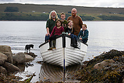 Residents of the remote former 1960's hippy colony of Scoraig who are on the hunt for a school teacher who can cope with the lack electricity, shops and a road in and out of the township - feature for the Scottish Daily Mail