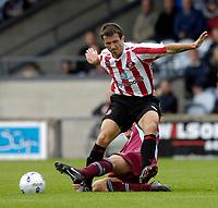 Photo: Jed Wee/Sportsbeat Images.<br /> Scunthorpe United v Sunderland. Pre Season Friendly. 21/07/2007.<br /> <br /> Sunderland's Liam Miller.