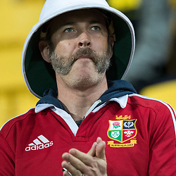 British &amp; Irish Lions Fan during game 8 of the British and Irish Lions 2017 Tour of New Zealand,The match between  Hurricanes and British and Irish Lions, Westpac Stadium, Wellington, Tuesday 27th June 2017<br /> (Photo by Kevin Booth Steve Haag Sports)<br /> <br /> Images for social media must have consent from Steve Haag