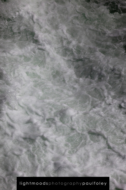 Turbulent water, Whistler, British Columbia, Canada,