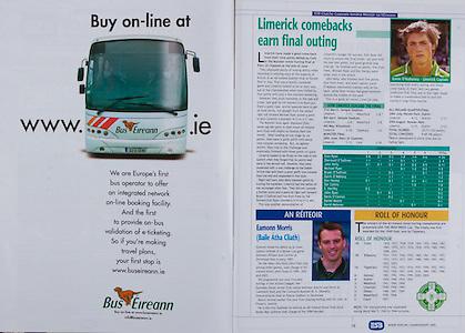 All Ireland Senior Hurling Championship - Final,.11.09.2005, 09.11.2005, 11th September 2005,.Minor Galway 3-12, Limerick 0-17,.Senior Cork 1-21, Galway 1-16,.11092005AISHCF,.Bus Eireann,