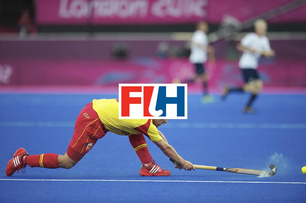 LONDON - Olympische Spelen 2012.men match.Spain v Great Britain.foto:  Sergi Enrique ..FFU PRESS AGENCY COPYRIGHT FRANK UIJLENBROEK.