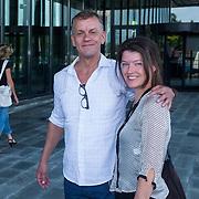NLD/Hilversum/20130829 - Najaarspresentatie NPO 2013, Siemon de Jong en partner Leontine Filippo