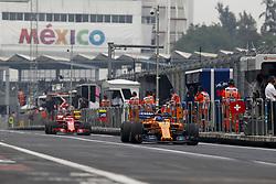 October 27, 2018 - Mexico-City, Mexico - Motorsports: FIA Formula One World Championship 2018, Grand Prix of Mexico, .#14 Fernando Alonso (ESP, McLaren F1 Team) (Credit Image: © Hoch Zwei via ZUMA Wire)