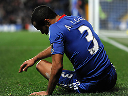 14.11.2010, Stamford Bridge, London, ENG, PL, FC Chelsea vs FC Sunderland, im Bild Chelsea`s Ashley Cole  distraught after his mistake leas to goal number three Chelsea vs Sunderland  in the Barclays Premier League  at Stamford Bridge stadium in London on 14/11/2010. EXPA Pictures © 2010, PhotoCredit: EXPA/ IPS/ Rob Noyes +++++ ATTENTION - OUT OF ENGLAND/UK +++++