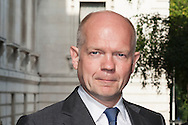 Downing Street, London, UK. 22nd July 2014. Ministers attend the weekly cabinet meeting at 10 Downing Street in London. Pictured: WILLIAM HAGUE.
