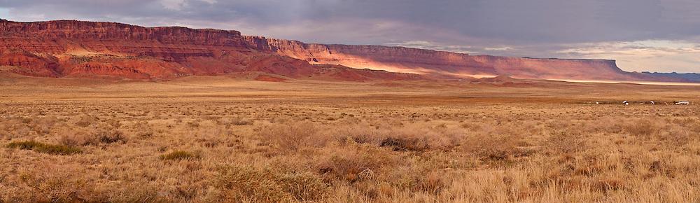 Vermilion Cliffs National Monument, Arizona, panorama